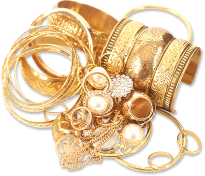 Gold Jewelry Free Download PNG Image