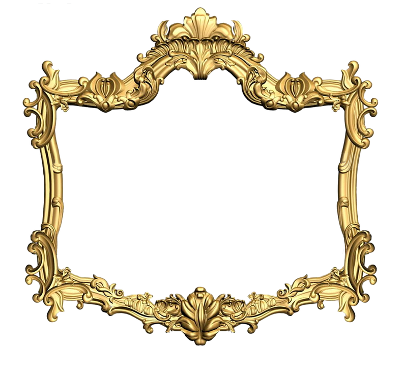 Picture Frame Pixabay Flower Gold PNG Image High Quality PNG Image