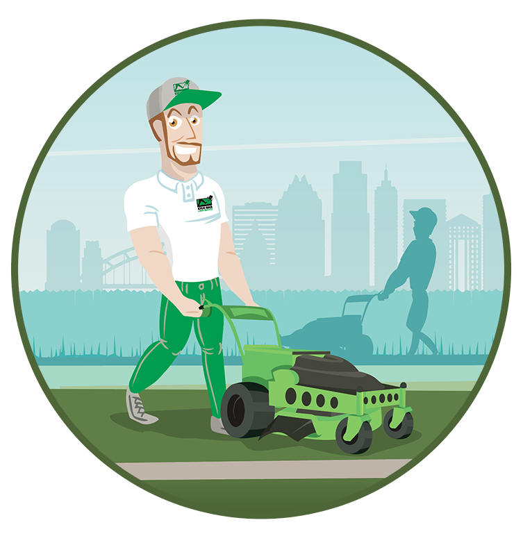Lawn Balls Golf Mowing Illustration Drawing Cartoon PNG Image