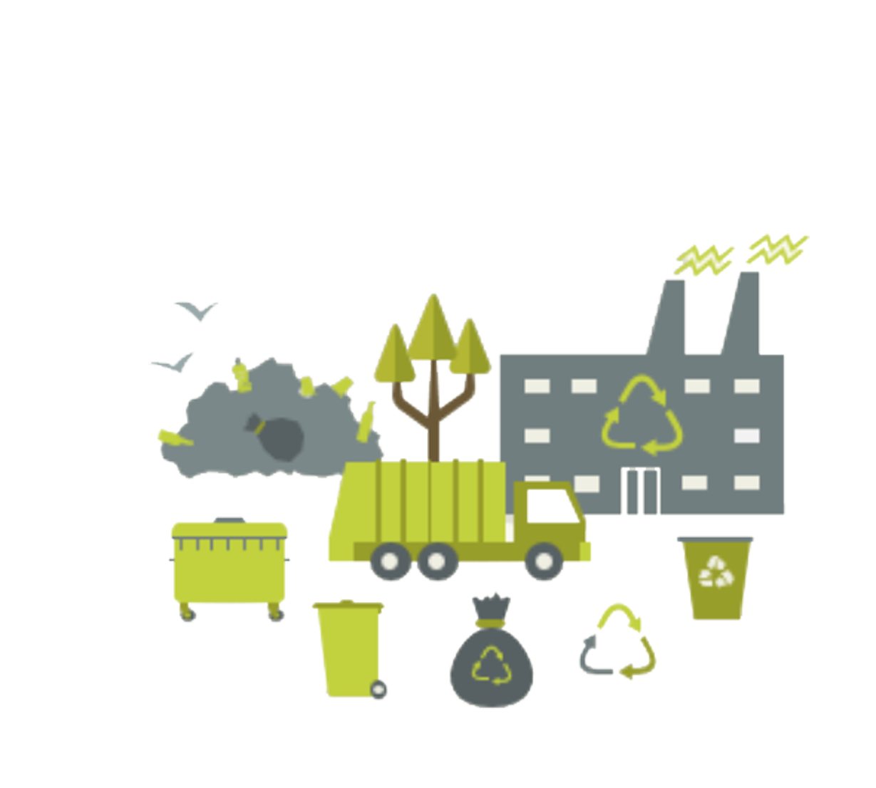 Bin Management Recycling Illustration Recycle Waste PNG Image
