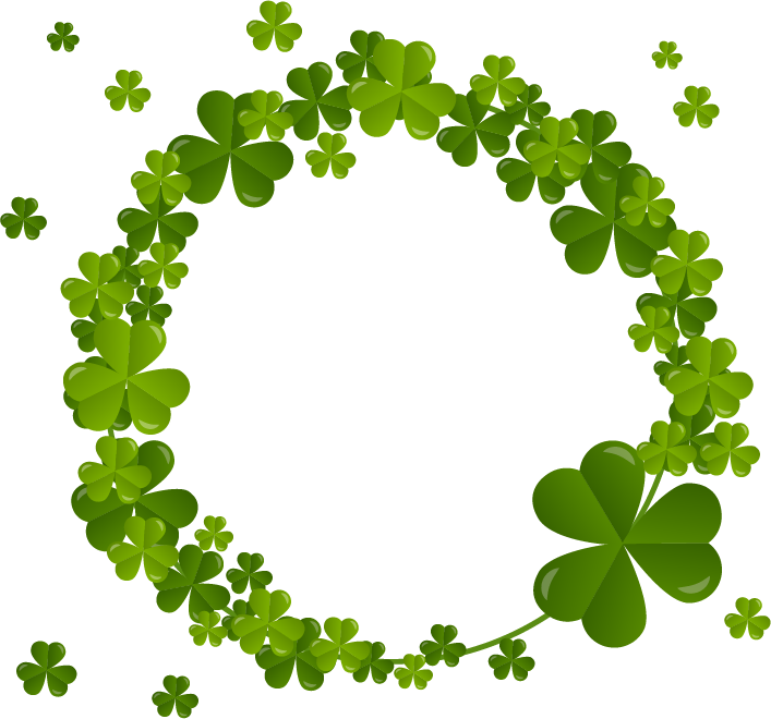 Shamrock Clover Plant Flora Ireland Free Clipart HQ PNG Image