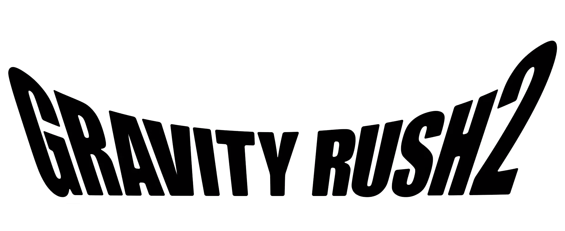 Gravity Rush Logo Clipart PNG Image