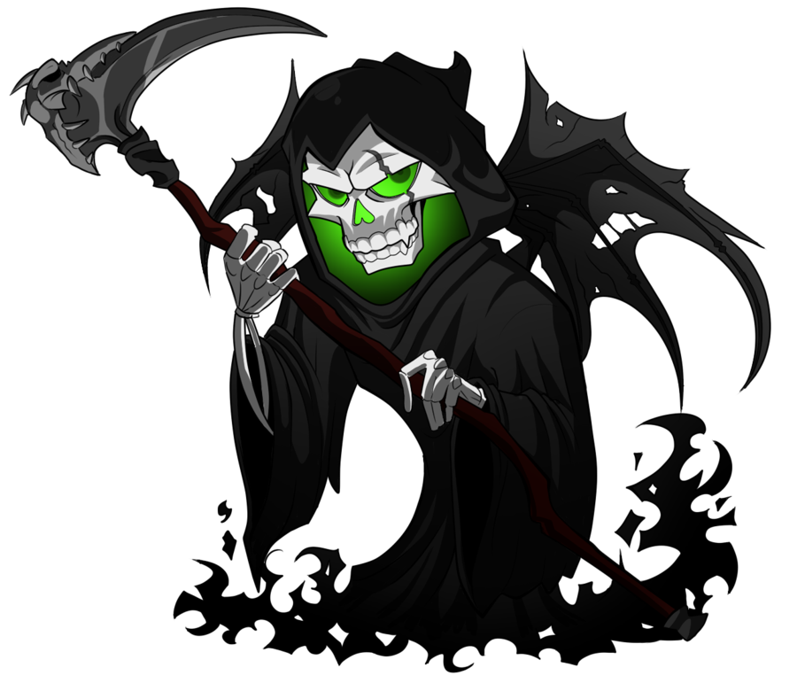 Grim Reaper Picture PNG Image