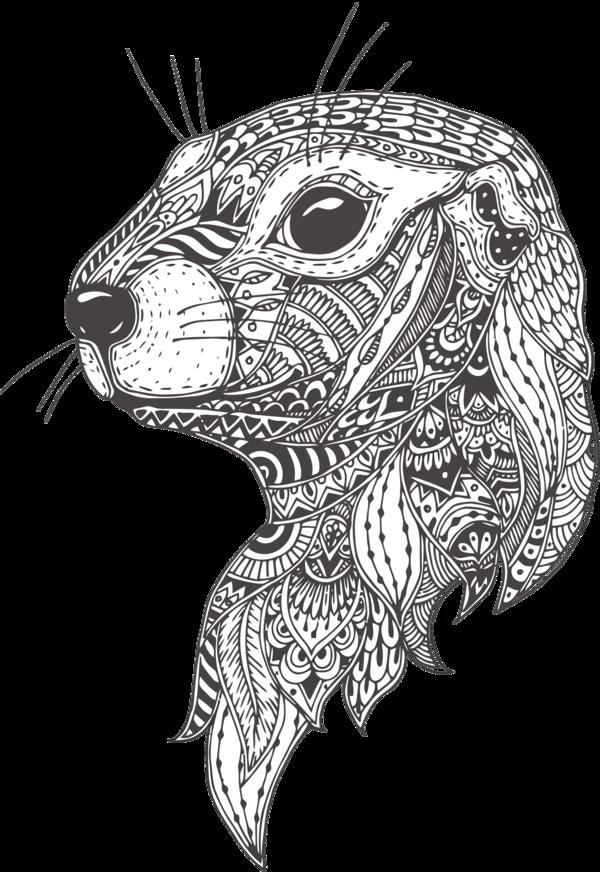 Download Groundhog Day Line Art Head Drawing For Celebration Hq Png Image Freepngimg