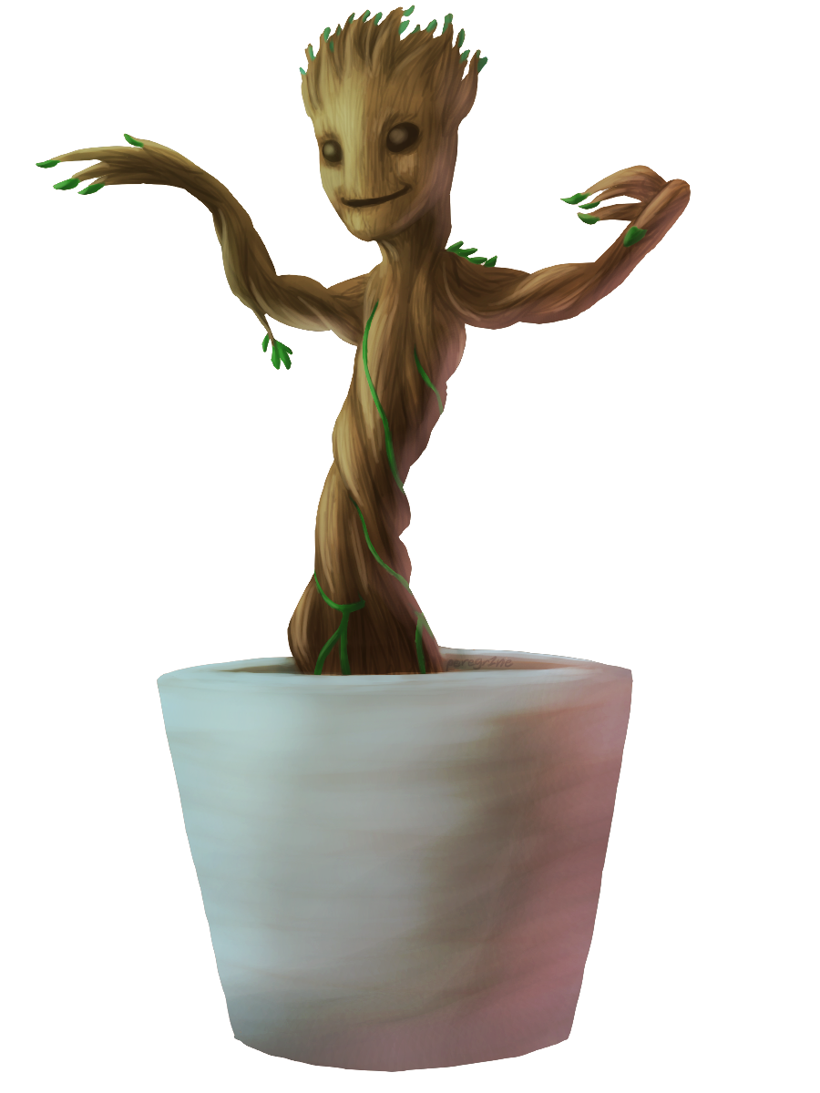 Baby Groot Hd PNG Image