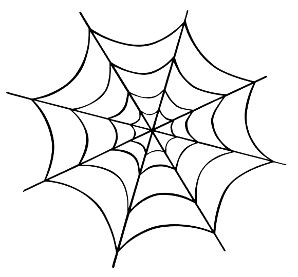Halloween Spider Transparent Background PNG Image