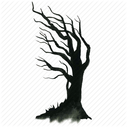Halloween Tree Free Download PNG Image