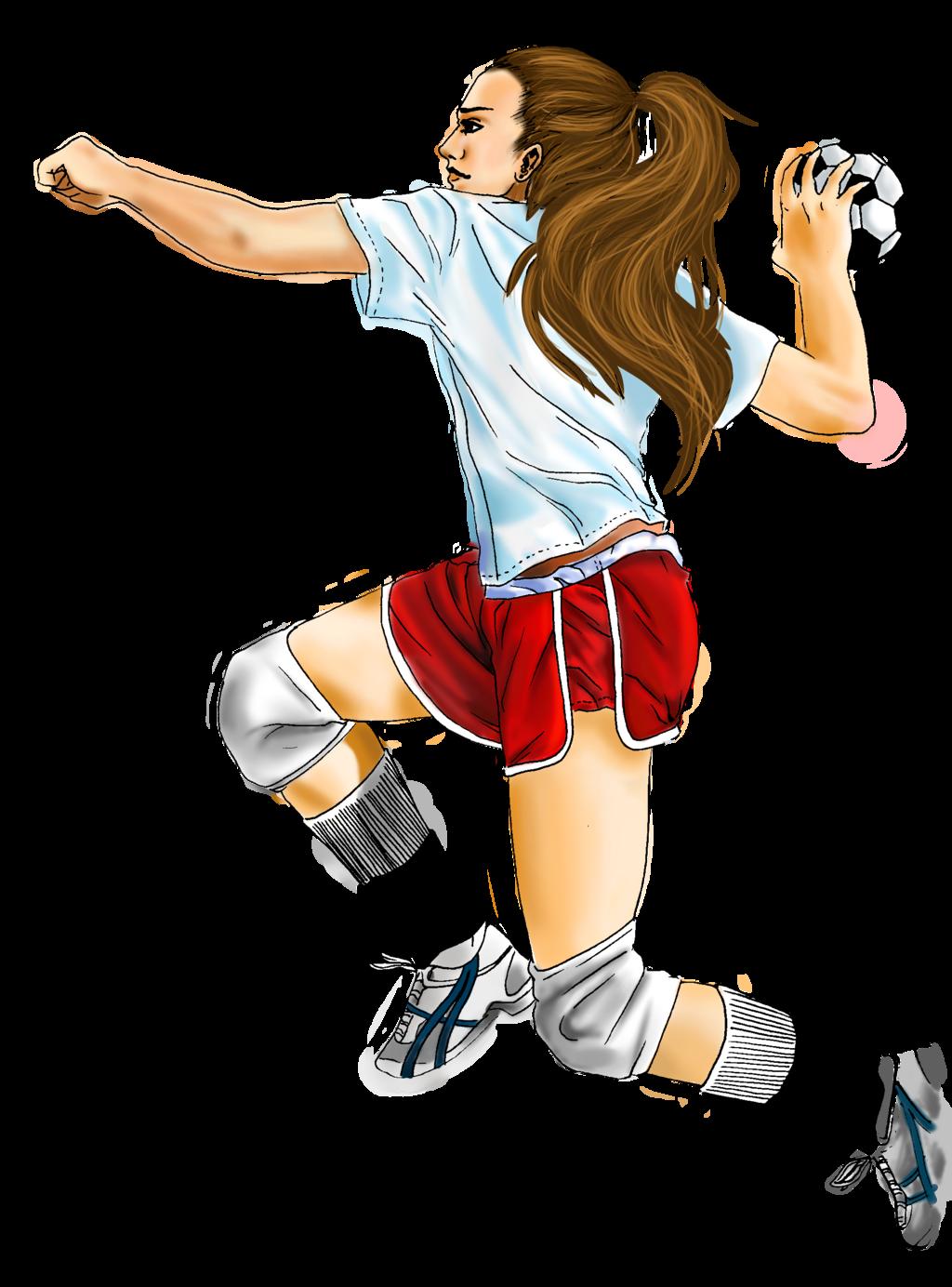 Handball Ball Comic