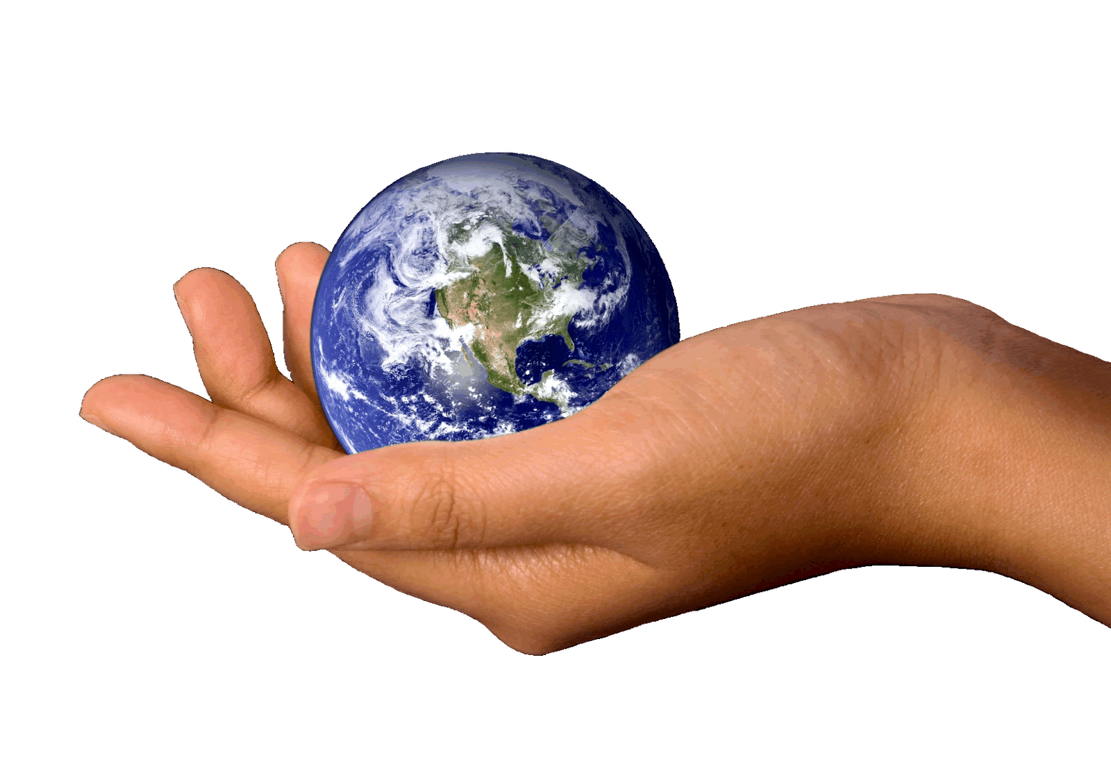 Earth In Hands Png Hand Image  PNG Image