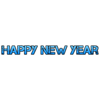 Happy New Year Text Png 46
