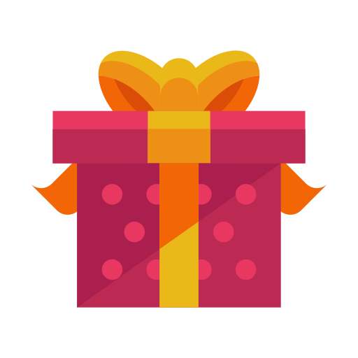 Gift Christmas Yellow Orange For Holiday 2020 PNG Image