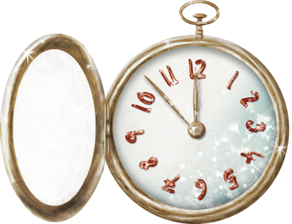 Clock Pocket Watch Wedding Invitation Jewellery Home Accessories For Christmas Festival PNG Image