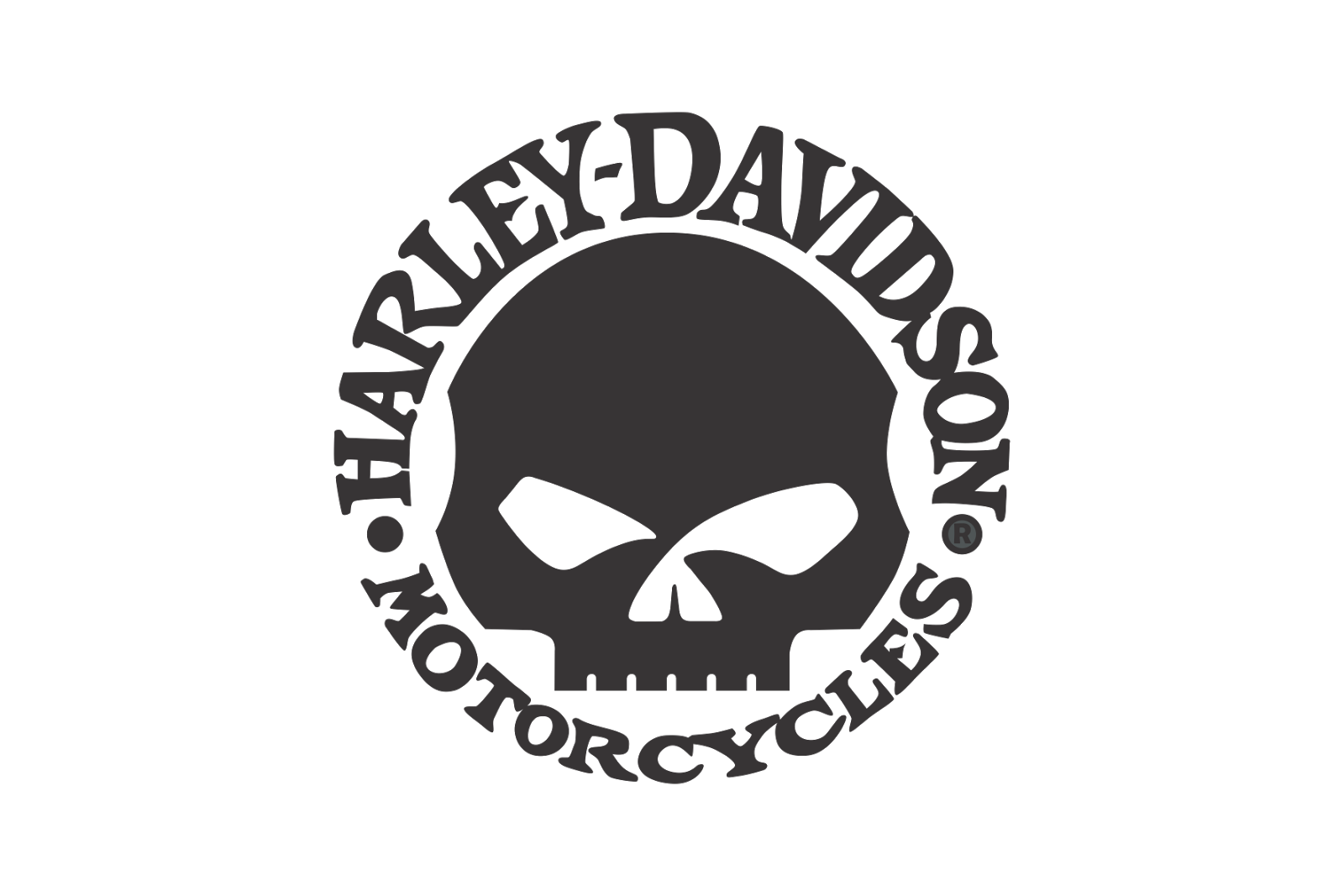 buy online e66ce 786f6 Download PNG image - Harley Davidson Logo Skull Png 1987