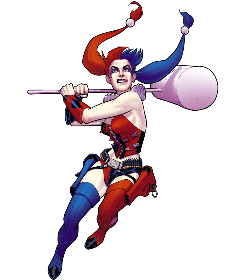 Harley Quinn Png Pic PNG Image