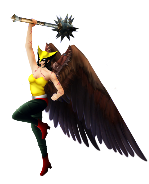 Hawkgirl Free Download PNG Image