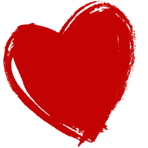 Dark Red Heart Hd PNG Image