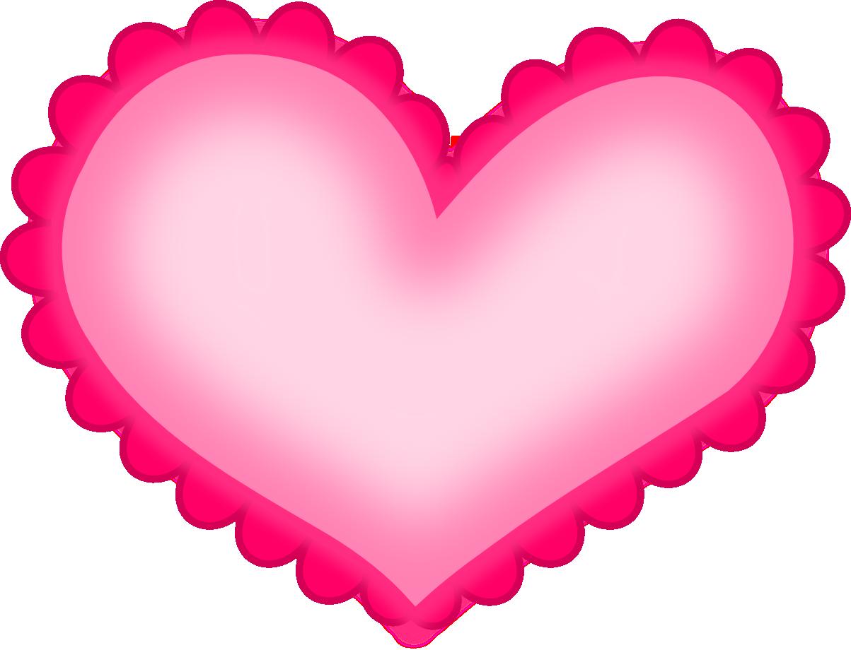 Днем, картинка сердечки розовые