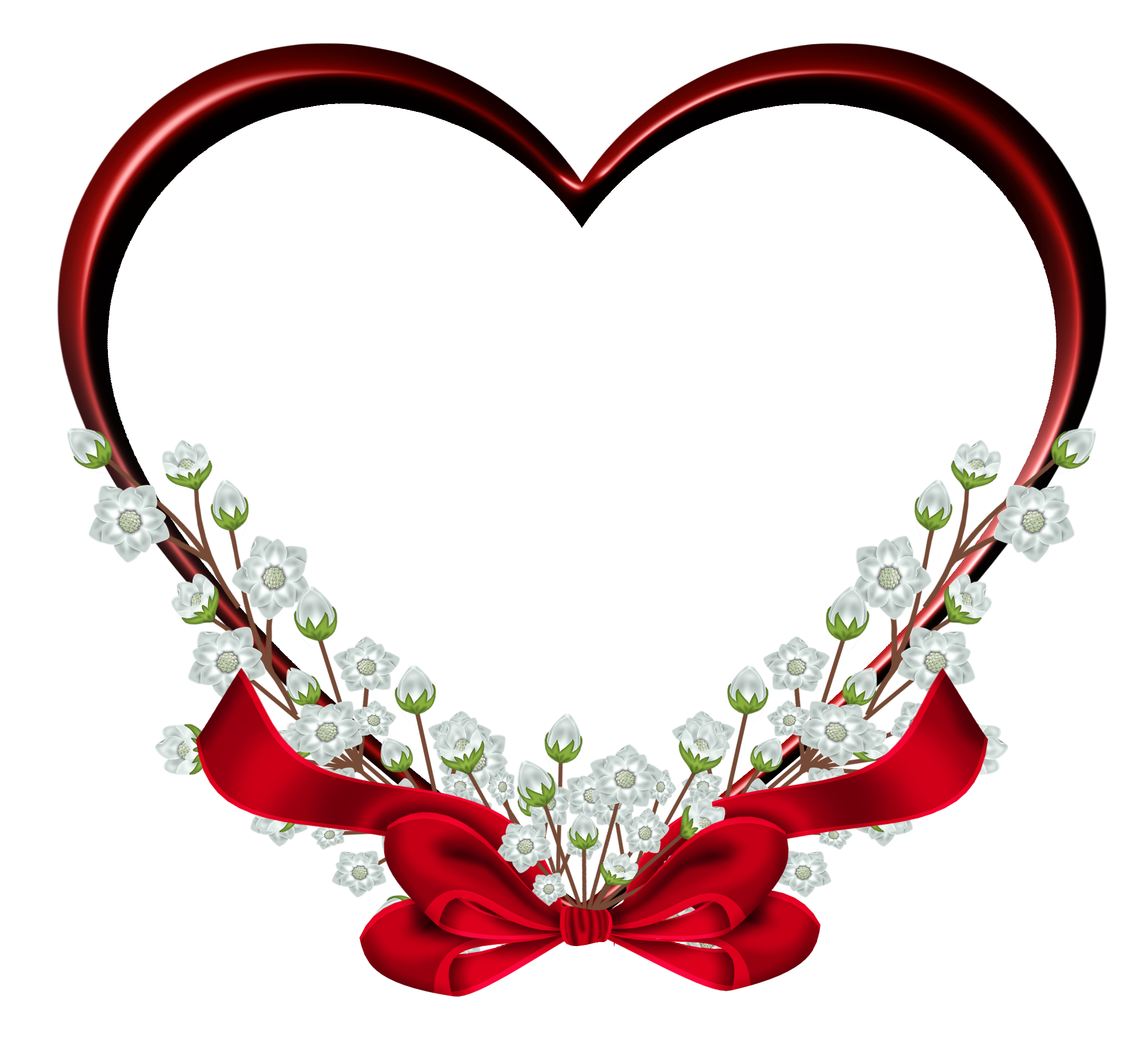 Red Heart Image PNG Image