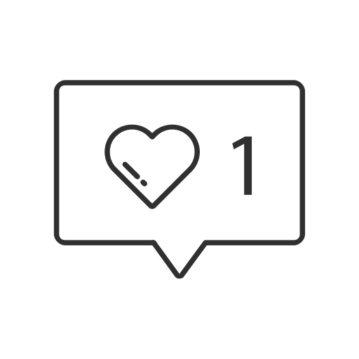 Instagram Heart Vector Network Icons Format Scalable PNG Image