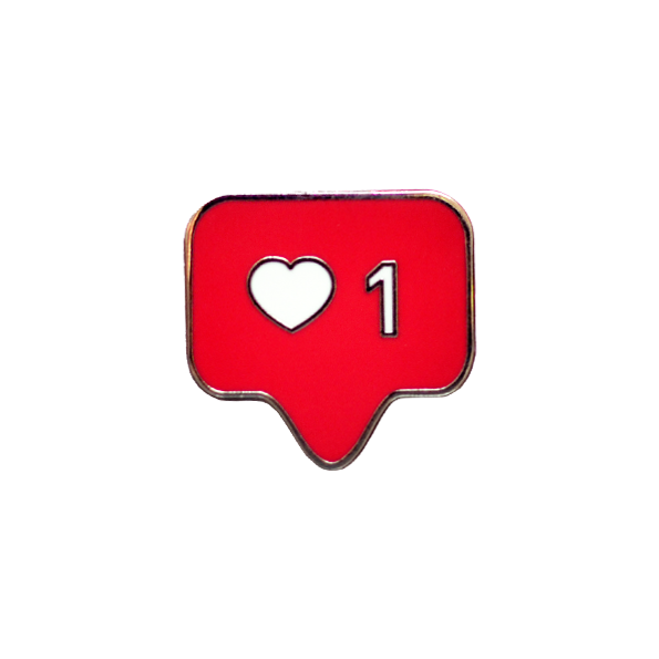 Heart Instagram Button Like Bonbones Emoji PNG Image