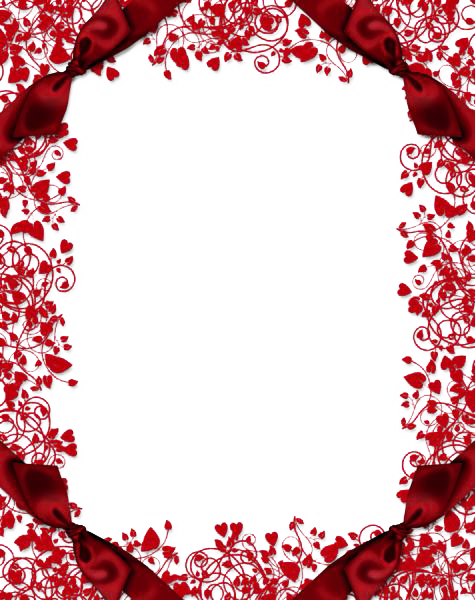 Picture Frame Wallpaper Flower Red Free Transparent Image HQ PNG Image