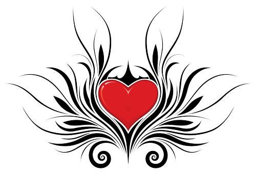 Tattoo Png Aesthetic Hd: Download Heart Tattoos Png Hd HQ PNG Image