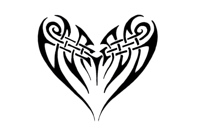 Heart Tattoos Transparent PNG Image