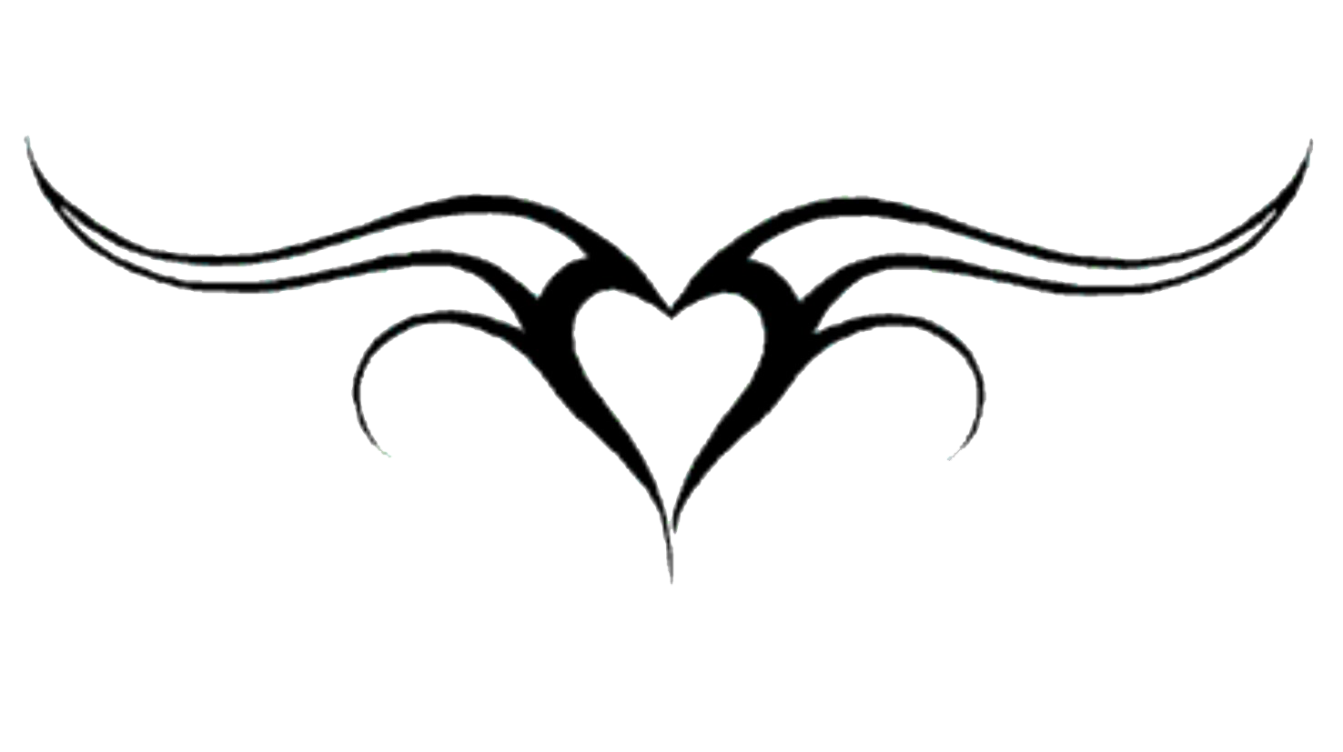Heart Tattoos Png PNG Image