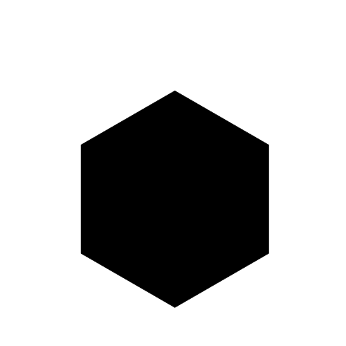 Hexagon Picture PNG Image