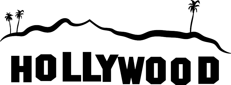 Hollywood Sign File PNG Image