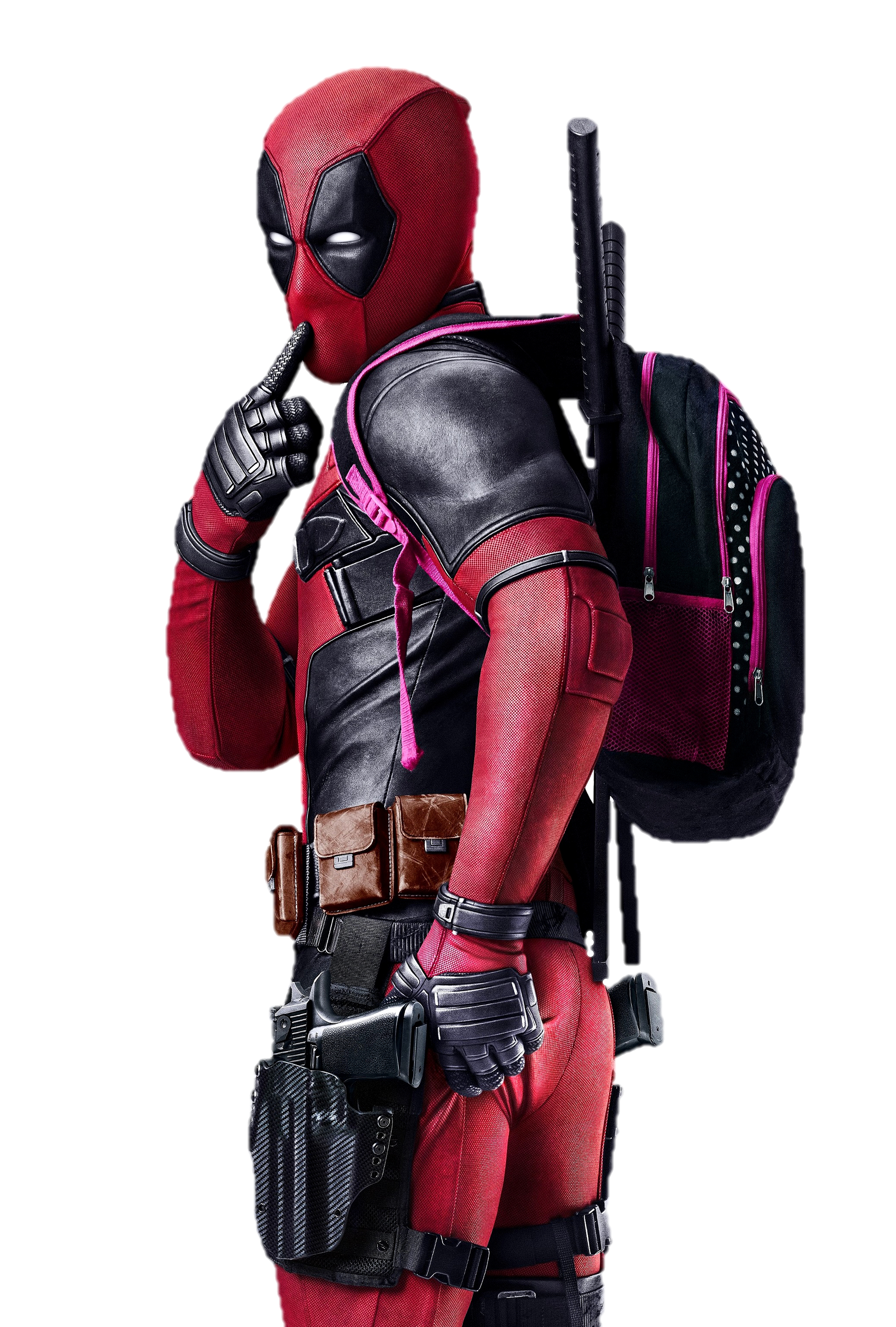 Compensator Protective Deadpool Gear Sports Decal In PNG Image