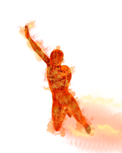 Human Torch Png Image PNG Image