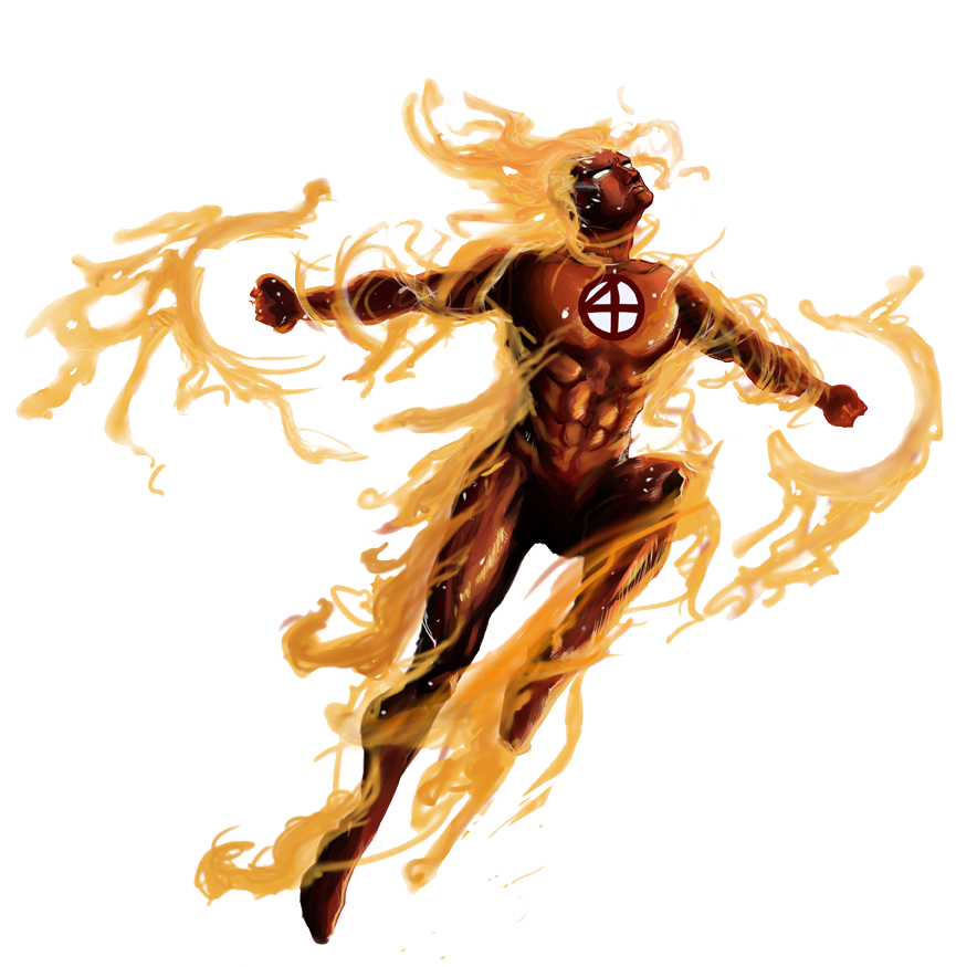 Human Torch Photos PNG Image