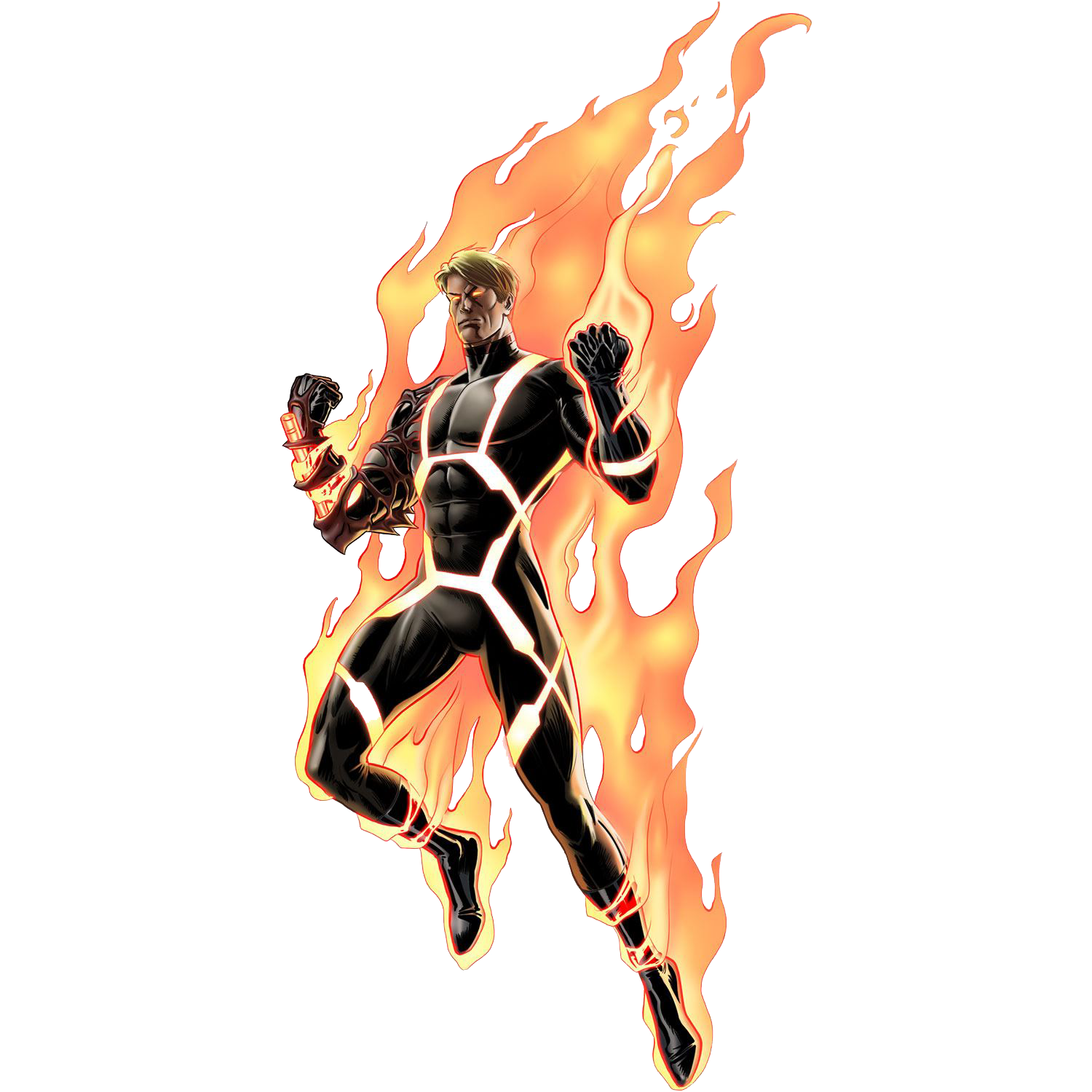 Human Torch Transparent Background PNG Image