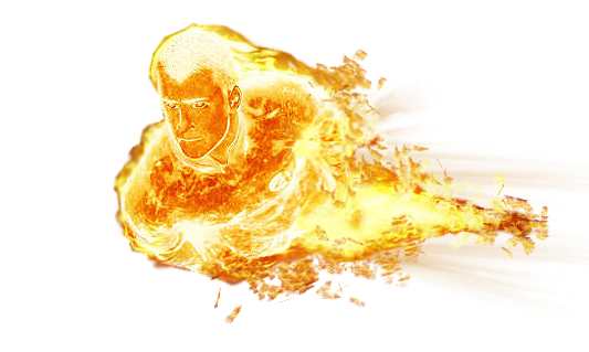 Human Torch Png File PNG Image