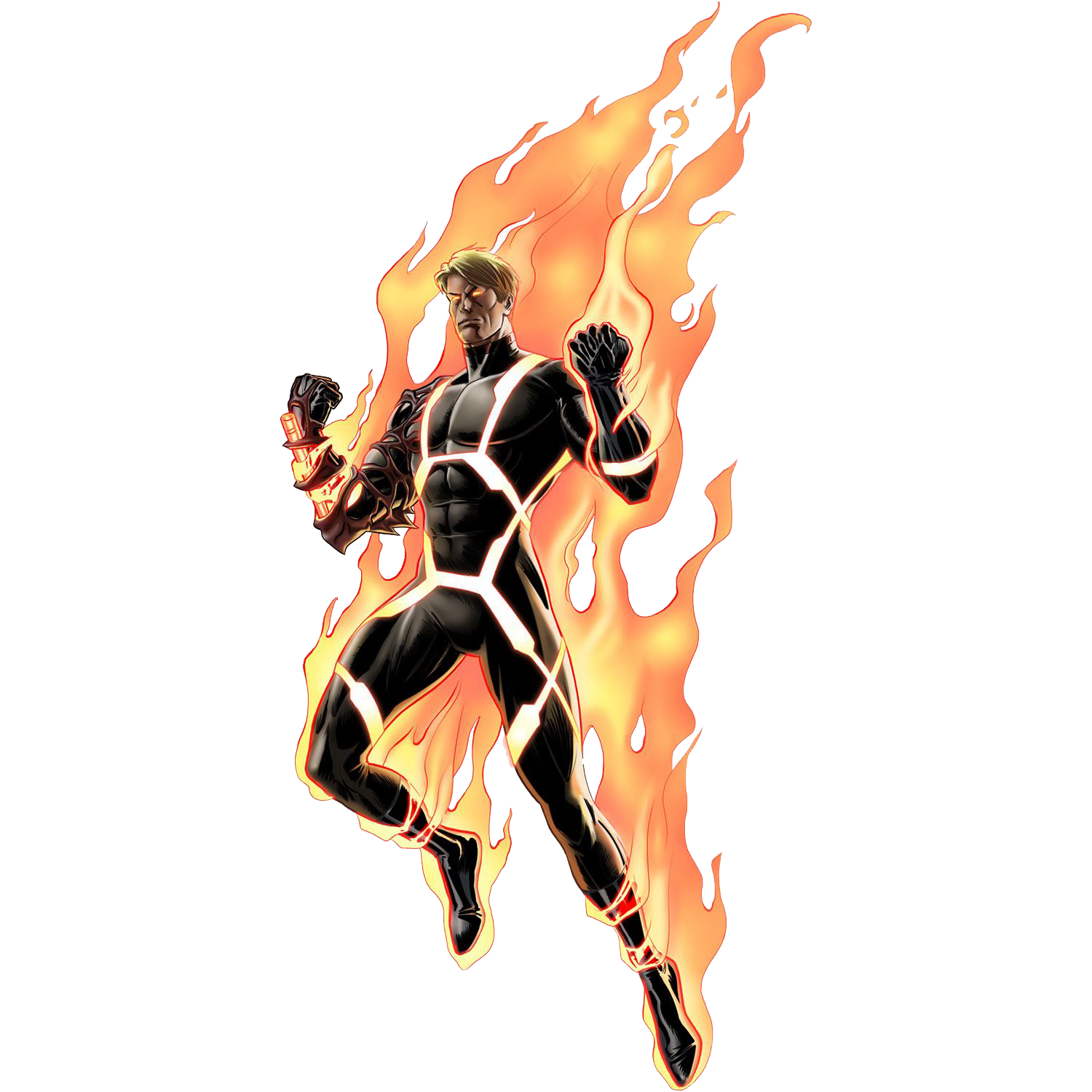 Human Torch Png Clipart PNG Image