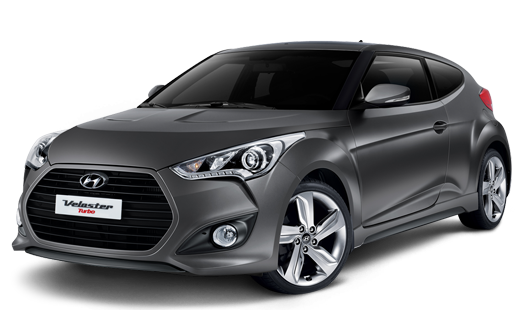 Hyundai Veloster Turbo PNG Image