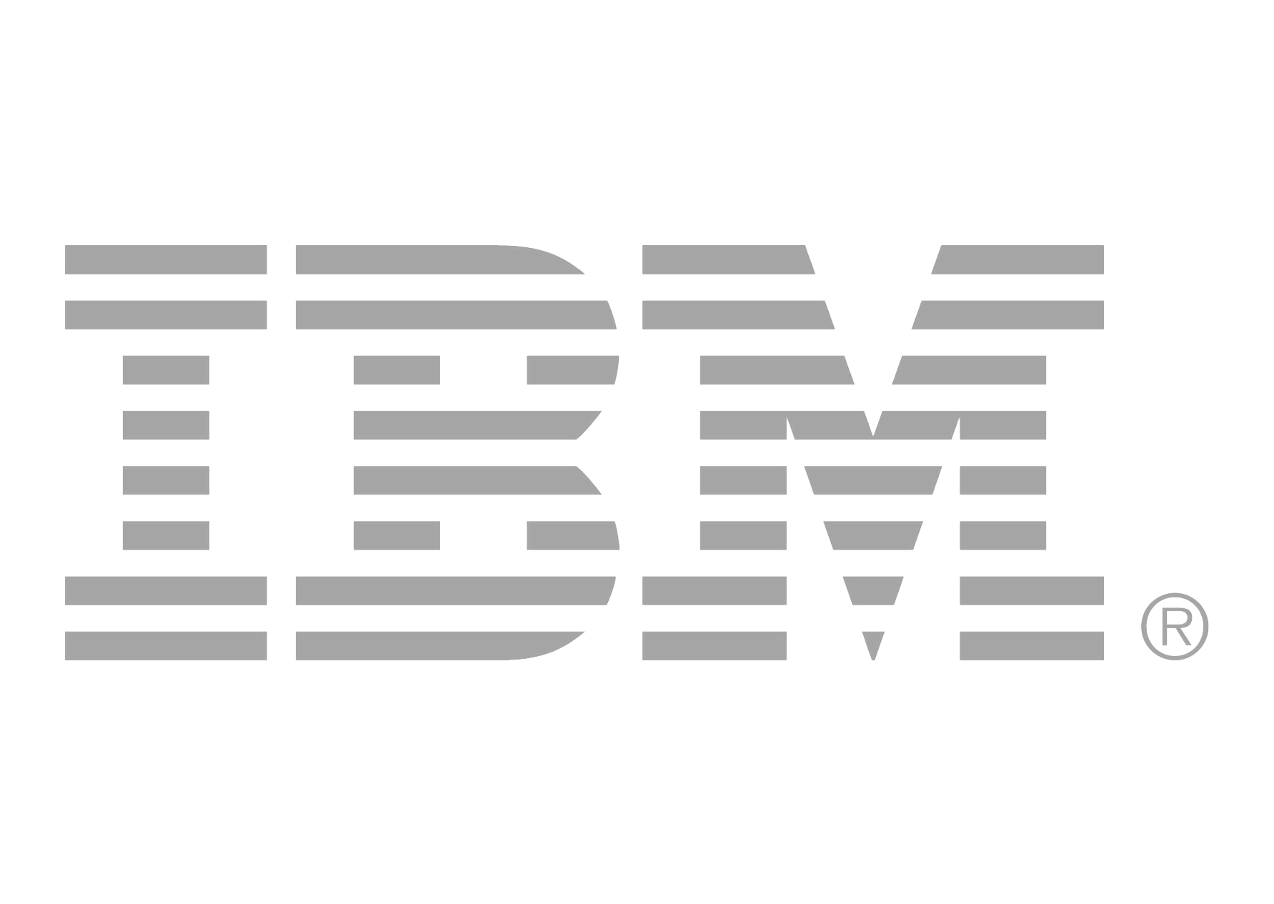 Style Graphic Ibm Typographic Design International Logo PNG Image