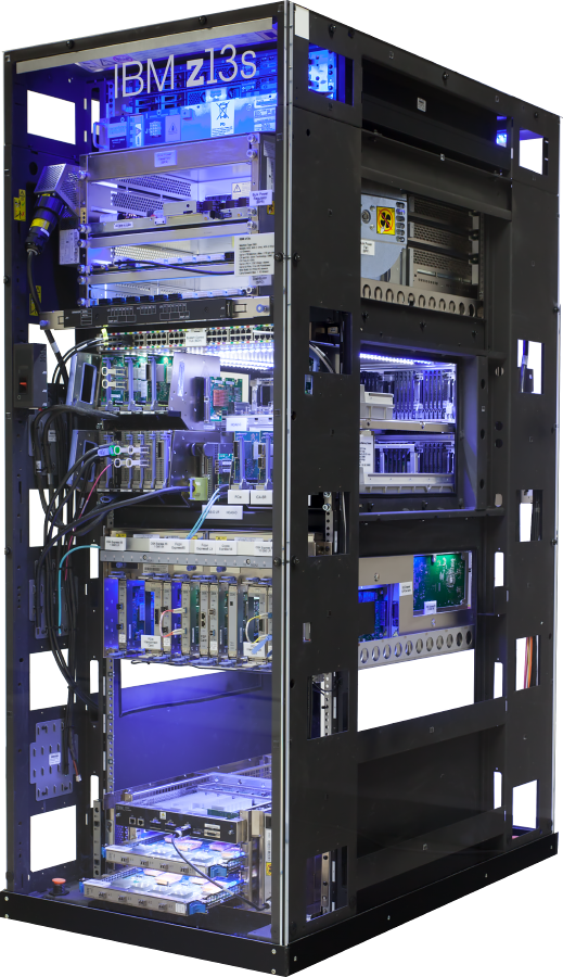 On Computer Ibm Z13 Mainframe Systems Linux PNG Image