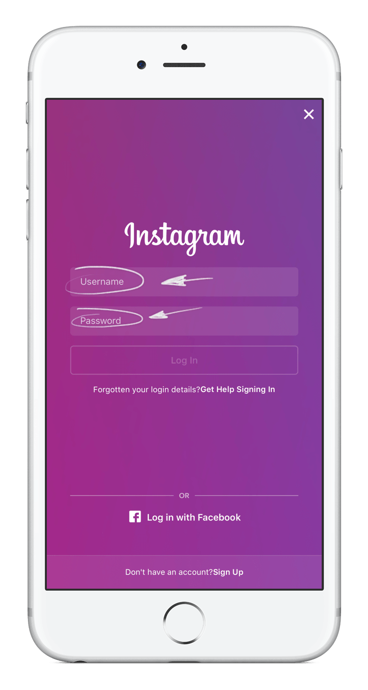 Instagram Text Typeface Devices Handheld Font PNG Image