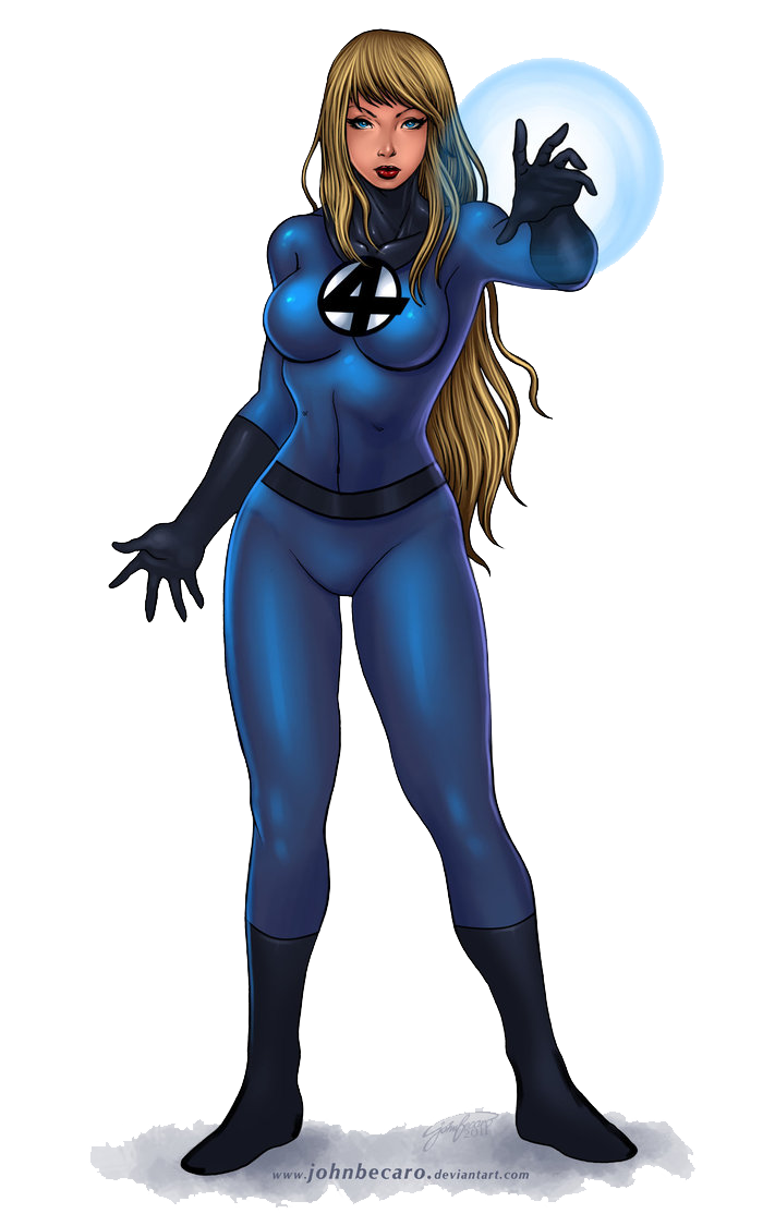 Invisible Woman File PNG Image