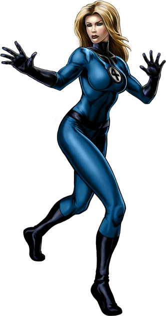 Invisible Woman Free Download Png PNG Image
