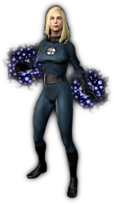 Invisible Woman Free Png Image PNG Image