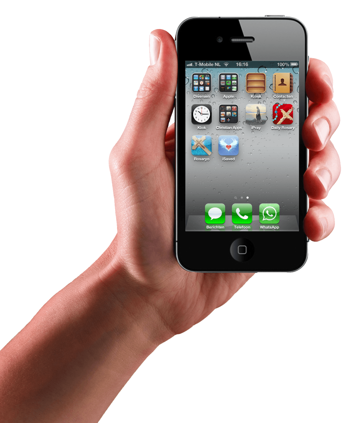 Iphone In Hand Transparent Png Image PNG Image