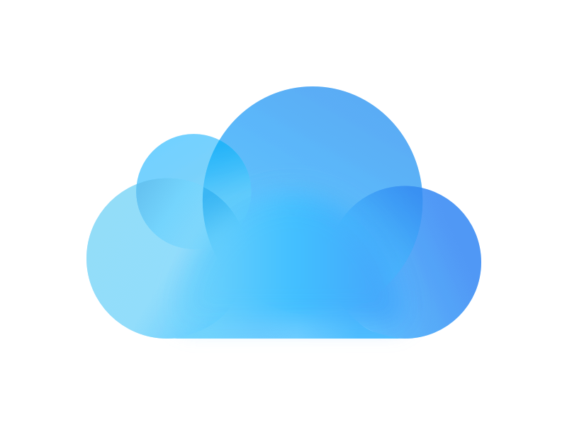 Cloud Apple Drive Icloud Iphone Free Frame PNG Image