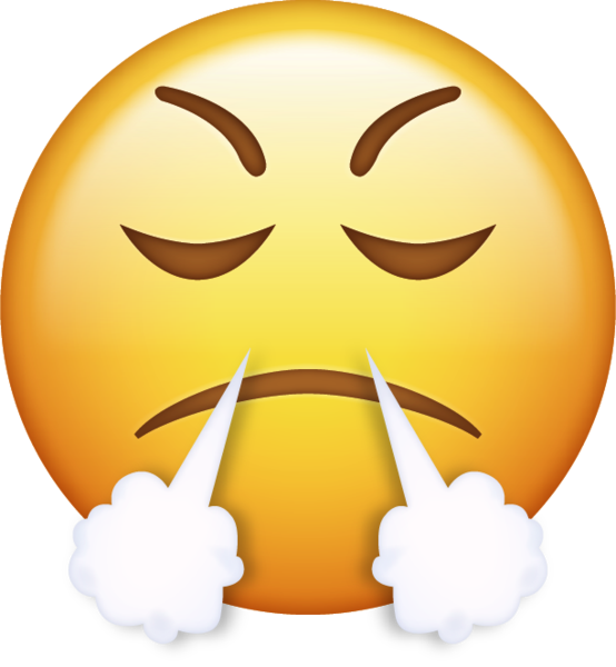 Emoticon Angry Smiley Iphone Anger Emoji PNG Image