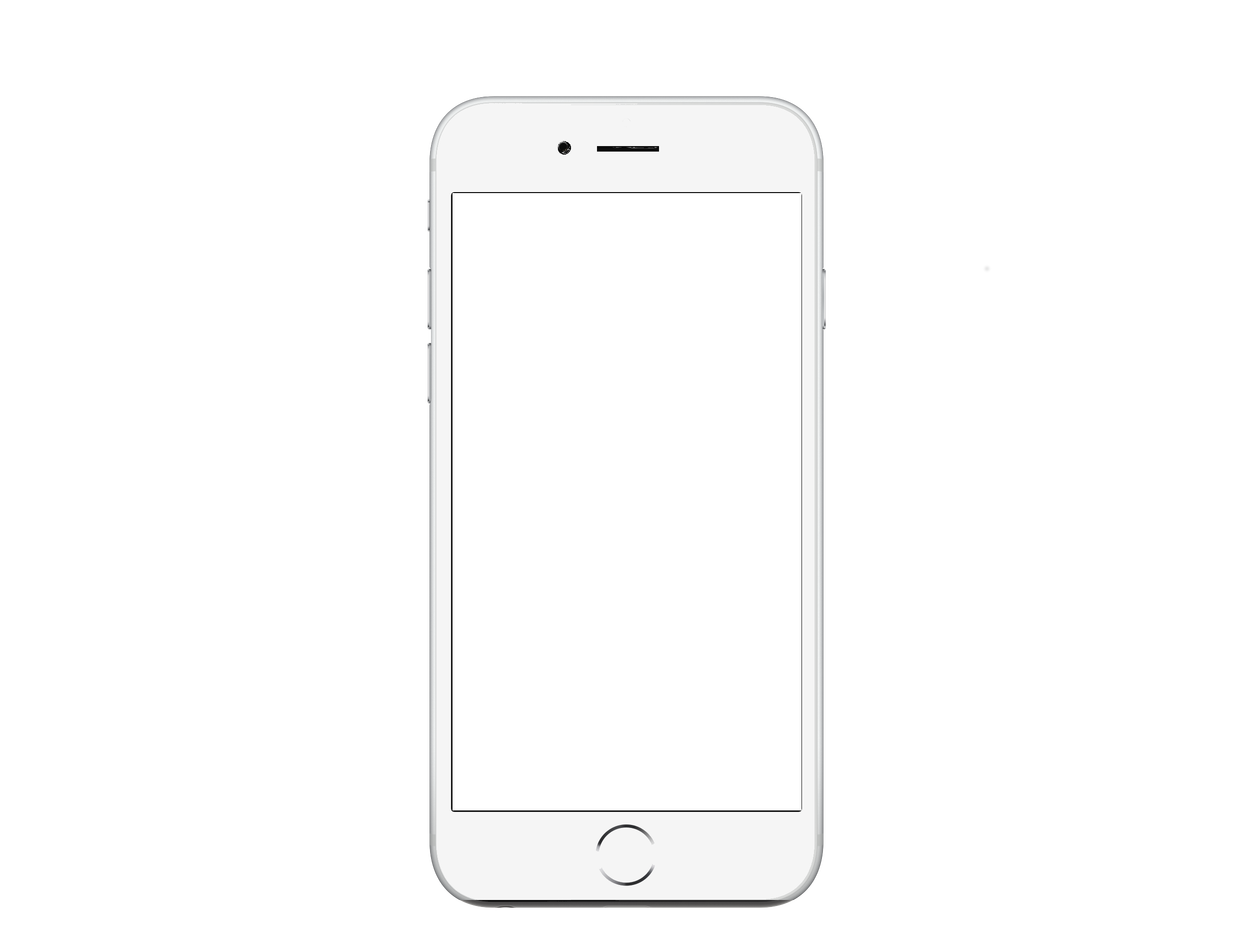 Android White Iphone Telephone Free Transparent Image HQ PNG Image