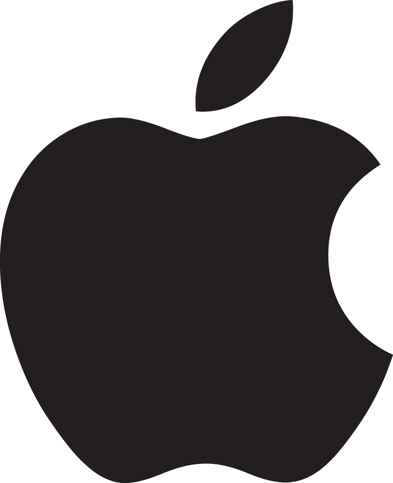Apple Material Scalable Vector Black Pure Graphics PNG Image