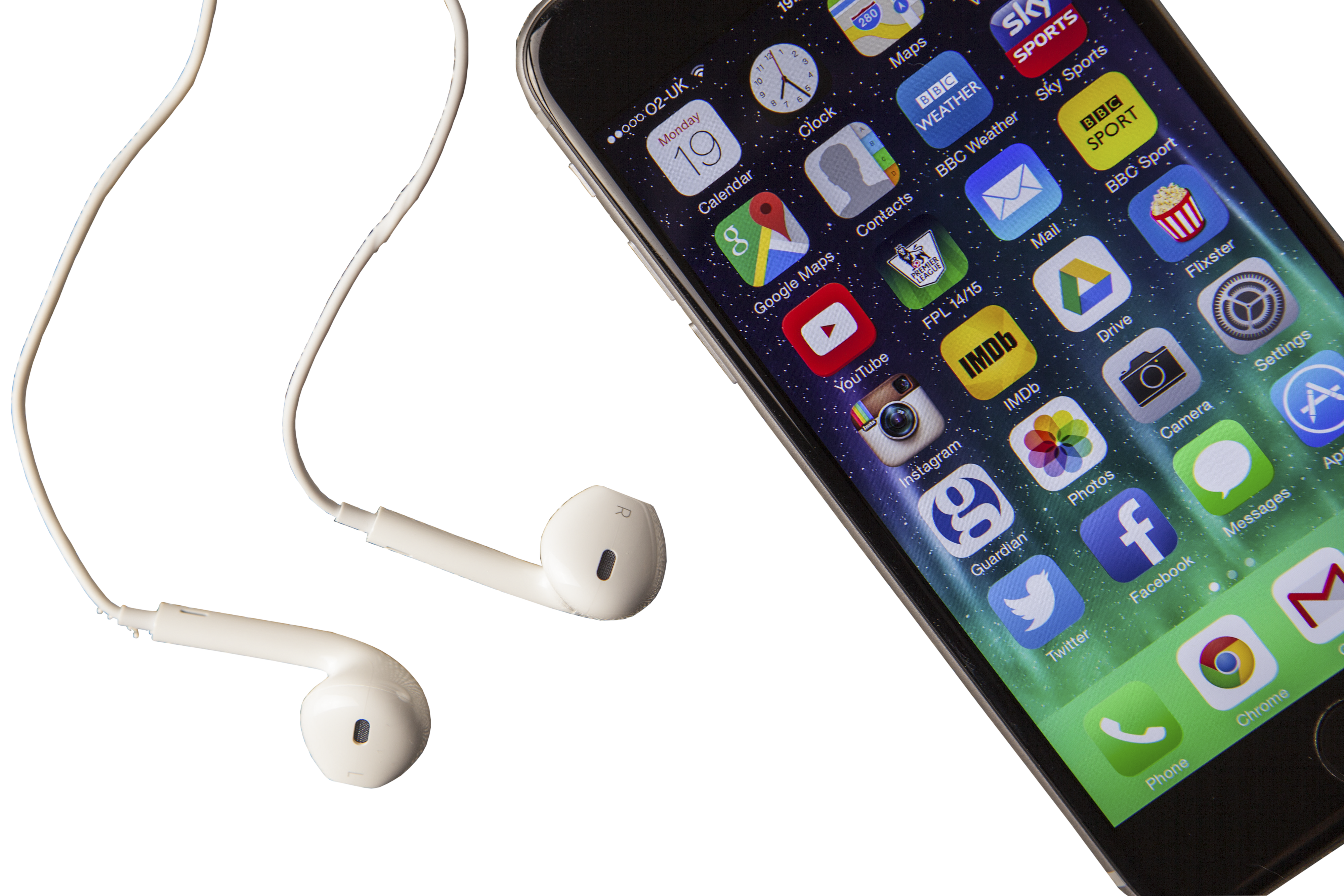 Headset Apple To Material Phone Plus Iphone PNG Image