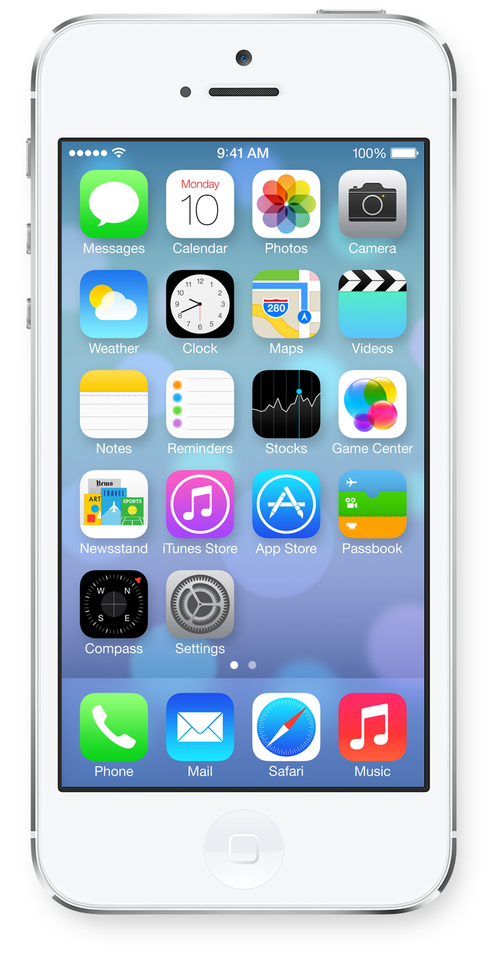 Picture Screen Ios 5S Iphone Home Transparent PNG Image